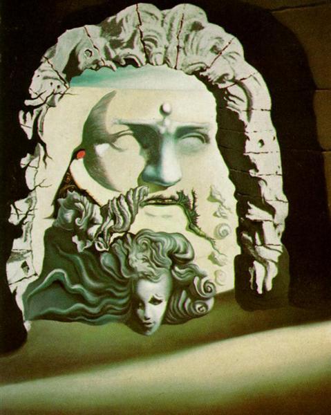 Double Image for 'Destino', 1946 - Salvador Dali