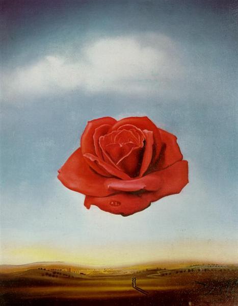 Meditative Rose, 1958 - Salvador Dali