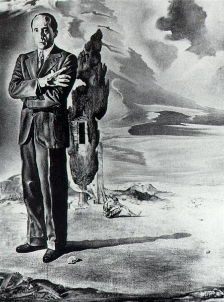 Portrait of the Marquis De Cuevas, 1942 - Salvador Dali