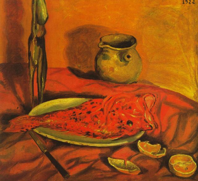 Still Life (Pulpo y scorpa), 1922 - Salvador Dali