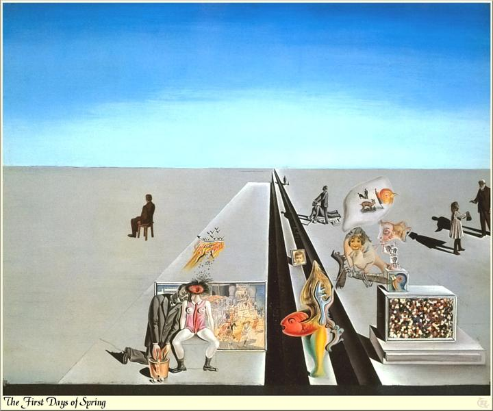 The First Days of Spring - Salvador Dali