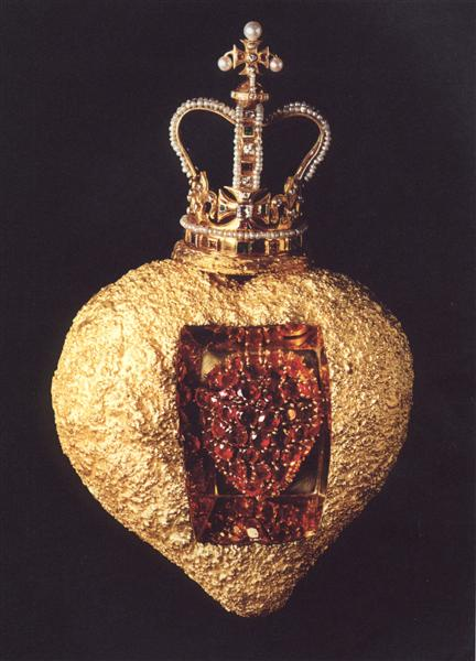 The Royal Heart, 1953 - Сальвадор Далі