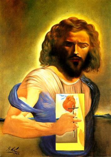The Sacred Heart of Jesus - Salvador Dali
