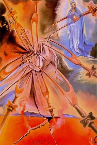 Vision of Fatima, 1962 - Salvador Dali