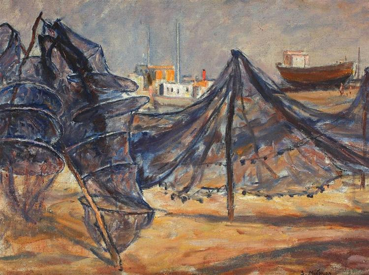 Fishing Nets Drying - Samuel Mutzner