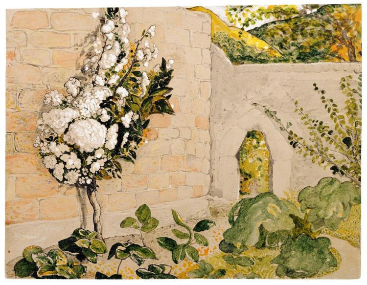 Pear Tree in a Walled Garden, 1829 - Samuel Palmer