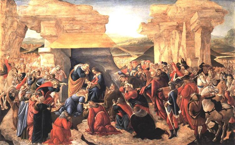 Adoration of the Magi, 1500 - Sandro Botticelli
