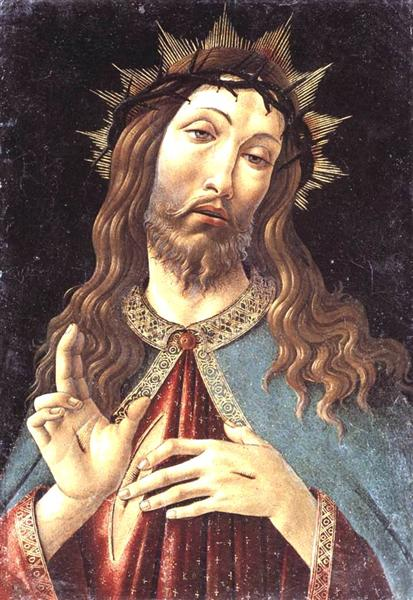 Christ Crowned with Thorns, c.1500 - Sandro Botticelli