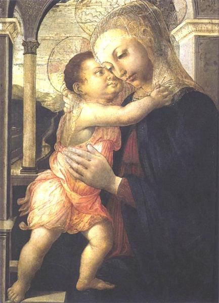Madonna and Child, 1467 - Sandro Botticelli