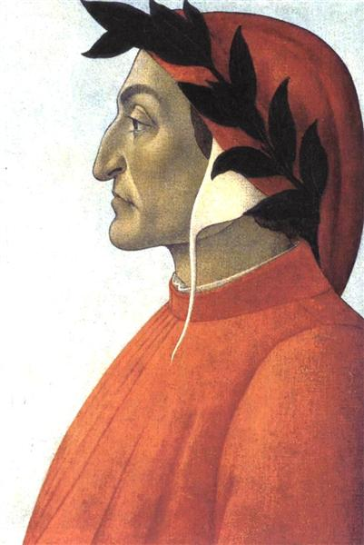 Portrait of Dante, c.1495 - Sandro Botticelli