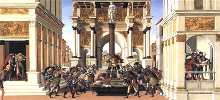Historias de Lucrecia, 1496 - 1504 - Sandro Botticelli