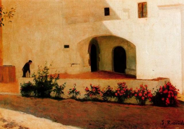 Entrada al Vinyet, 1892 - Santiago Rusinol