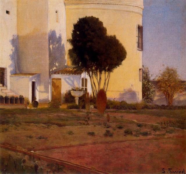 Huerto del Vinyet, 1892 - Santiago Rusinol