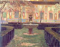 Jardín abandonado - Santiago Rusiñol