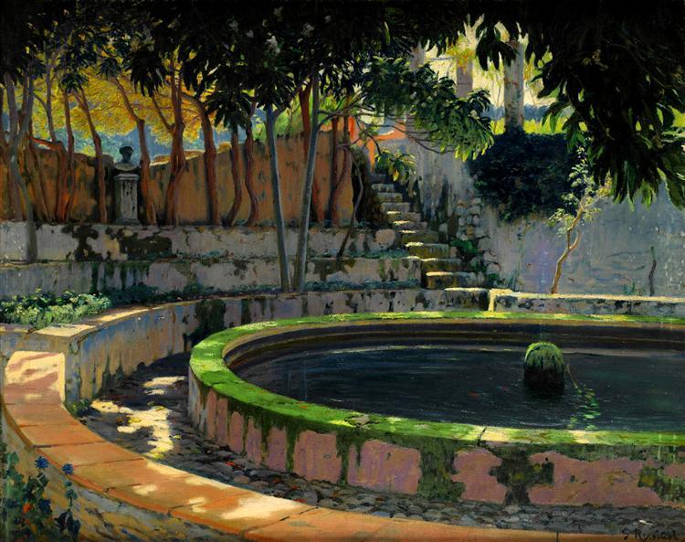 Jardín de las Elegías, Son Moragues, 1903 - Santiago Rusinol