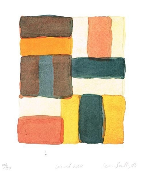 Coloured Wall, 2003 - Sean Scully