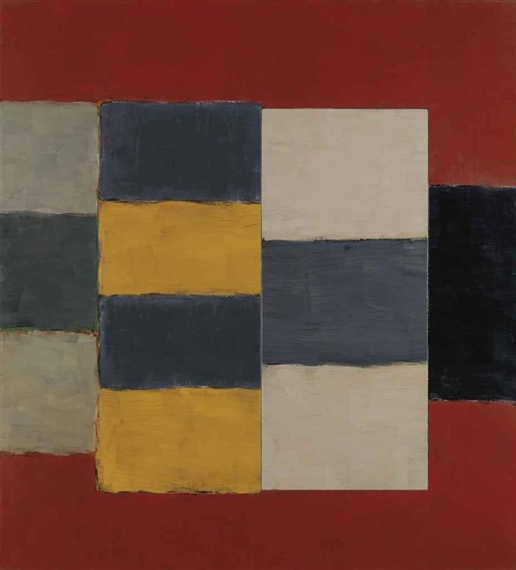 Yellow Figure, 2002 - Sean Scully