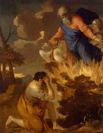 Burning bush - Sébastien Bourdon