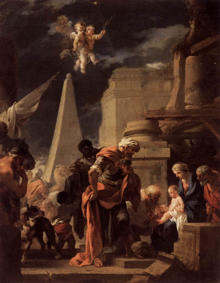 The Adoration of the Magi, 1645