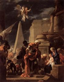 The Adoration of the Magi - Sébastien Bourdon