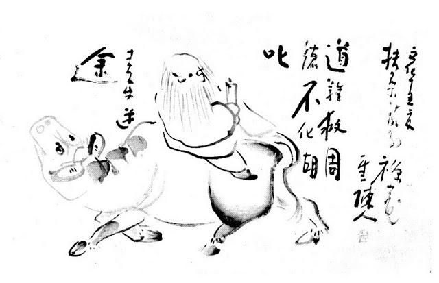 Ox-herding Zen - Sengai