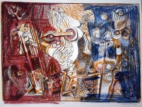 Im Atelier, 1979 - Серж Бриньони
