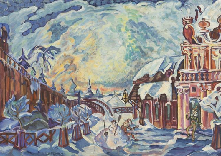 Winter Fantasy, c.1925 - Сергей Судейкин