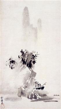Haboku sansui - Sesshu Toyo