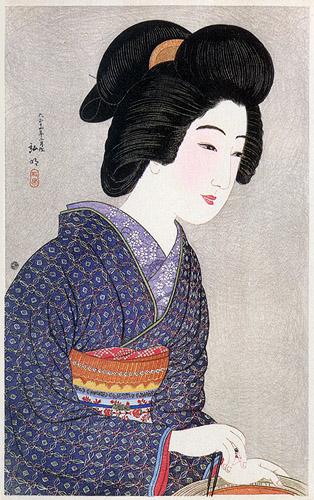 Geisha by Brazier, 1925 - Shotei Takahashi