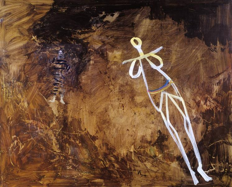 In the Cave, 1957 - Sidney Nolan