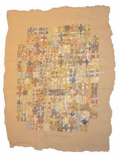 Garden of Signs (4), 1998 - Silviu Oravitzan