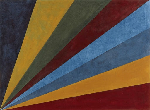 Colors from Corners - Sol LeWitt