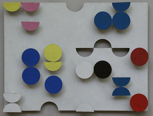 Relief rectangulaire - Sophie Taeuber-Arp
