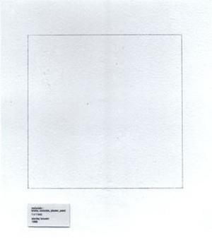 1 x 1 foot - Stanley Brouwn