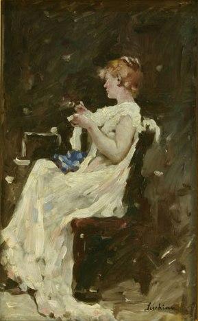 Woman - Ștefan Luchian