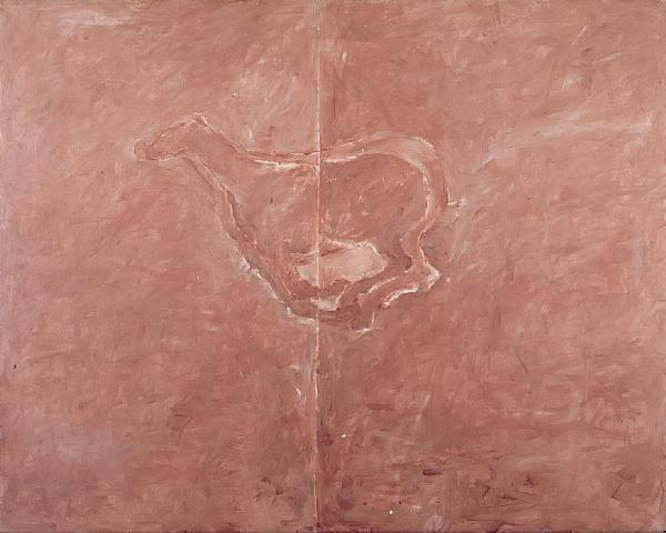 Untitled, 1974 - Susan Rothenberg