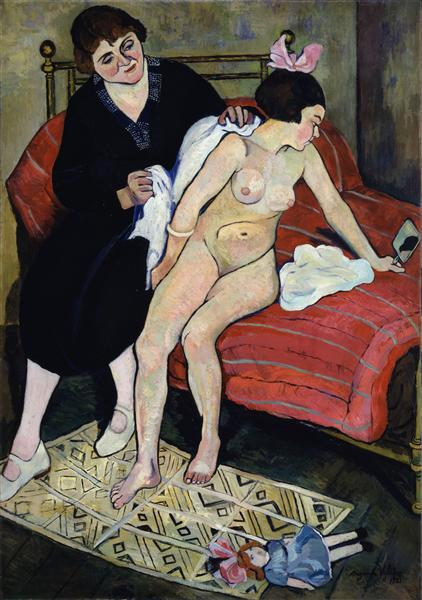 The Cast-Off Doll, 1921 - Suzanne Valadon