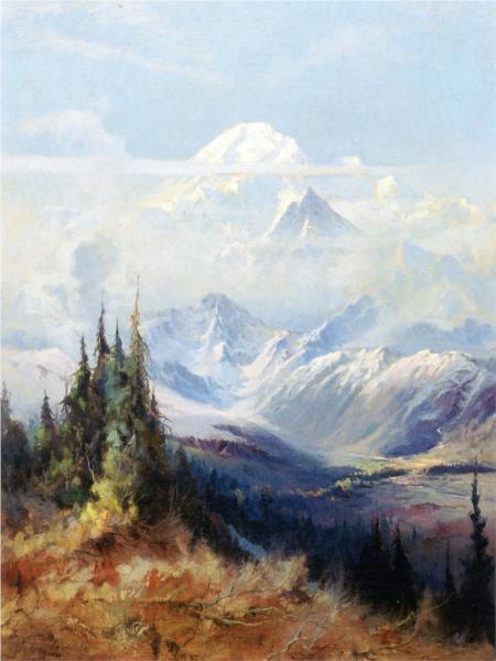 Mount McKinley in Mist - Sydney Laurence