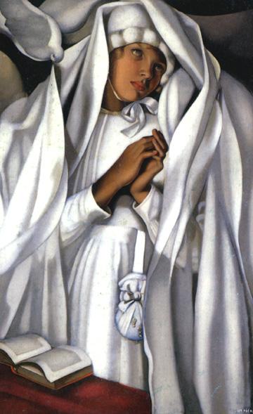 The Communicant, 1928 - Tamara de Lempicka