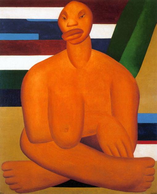 A Negra, 1923