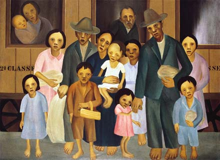 Second Class - Tarsila do Amaral