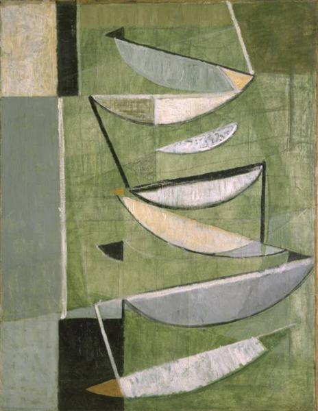 Green, Black and White Movement, 1951 - Terry Frost