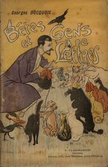 Betes et Gens de Lettres, 1895 - Theophile Steinlen