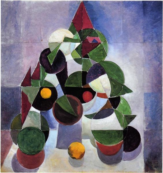 Composition I (Still life), 1916 - Тео ван Дусбург