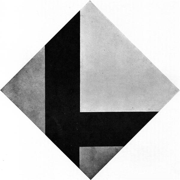 Counter composition VIII, 1924 - Тео ван Дусбург