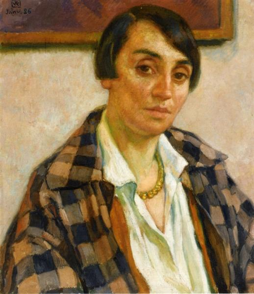 Portrait of Elizabeth van Rysselberghe, 1926 - Théo van Rysselberghe