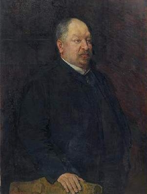 Portrait of Mr. Camille Laurent, 1884 - Theo van Rysselberghe
