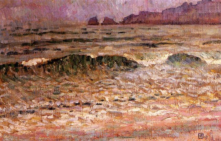 Rain Jersey, 1907 - Theo van Rysselberghe
