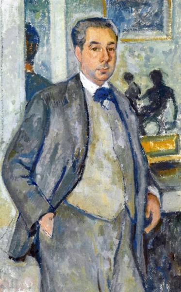 Roger Martin du Gard, 1926 - Theo van Rysselberghe