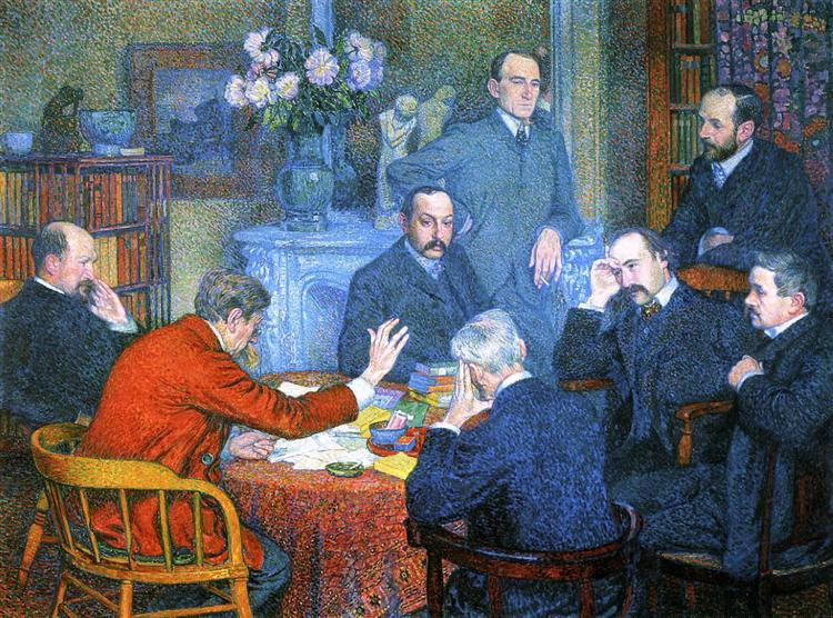 The Reading, 1903 - Theo van Rysselberghe